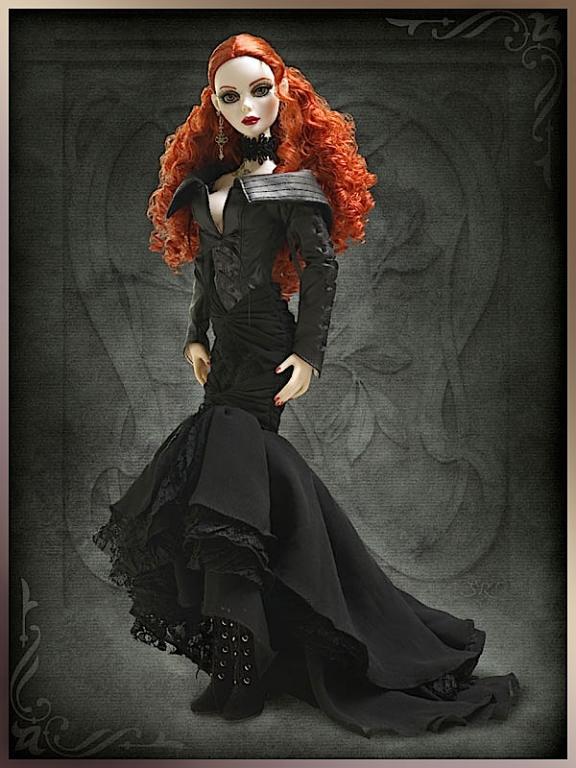 /Продано, оставлено до получения/ Кукла Tonner Evangeline Ghastly Moonlit Shadows / Эванджелин Лунные тени, новая, в коробке