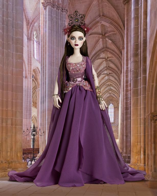 Кукла Tonner Evangeline Ghastly Attic Goddess -Тоннер Эванджелин Настоящая богиня, новая в коробке