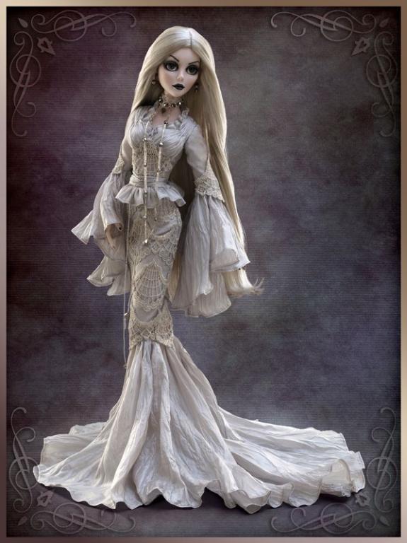 Под заказ Кукла Тоннер Эванджелин Гэстлей Прекрасный кошмар /Evangeline Ghastly Beautiful Nightmare TONNER, новая, лимит 350