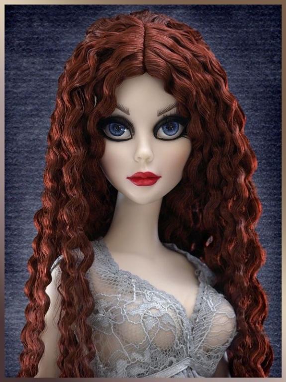 Кукла Tonner Evangeline Ghastly Everlasting / Вечная Эванджелин от Тоннер, винил, отличное состояние