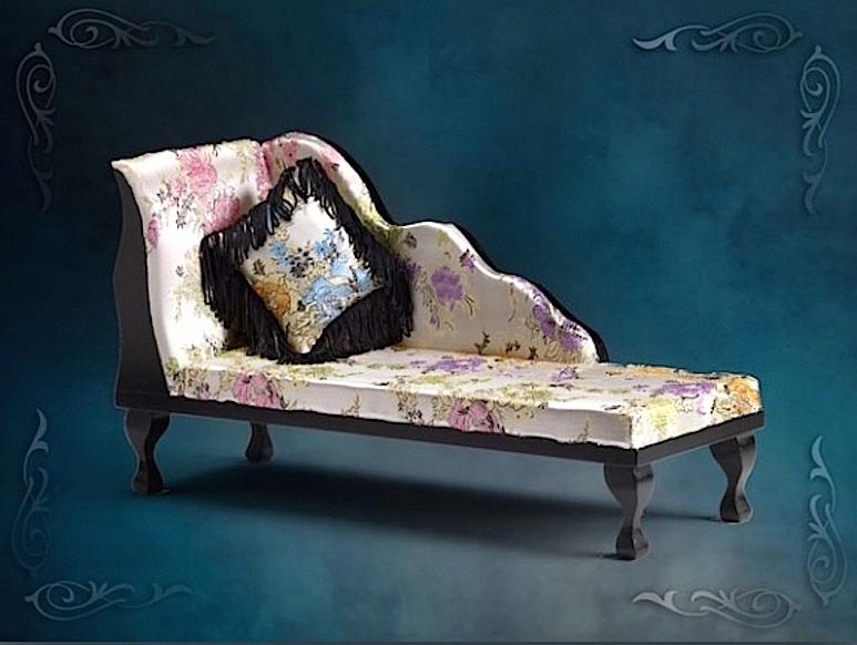 Кушетка Софа для гостиной Tonner Dead Tired Chaise Lounge EVANGELINE/Смертельная усталость/ для Эванджелин, Элловайн, Ками