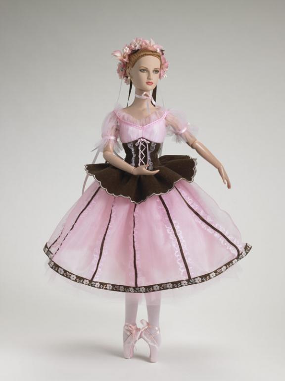 Кукла Tonner Coppelia - Коппелия Тоннер из серии New York City Ballet LE 500, в коробке, с подставкой, новая