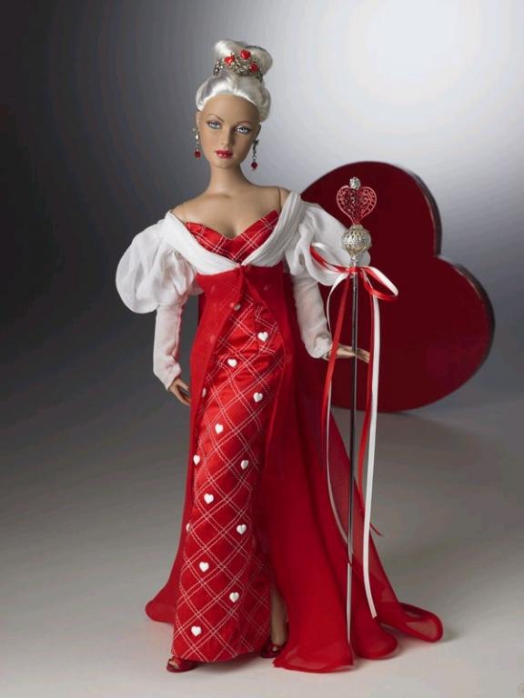 Кукла Tonner Queen of Hearts/ Тоннер Королева сердец из коллекции Алиса в стране чудес, новая в коробке
