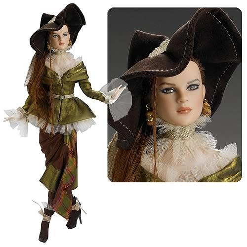 Кукла Тоннер Красота и Ум, Серия Волшебник изумрудного города/ Tonner Beauty And Brains The Wizard Of Oz, NFBR, новая в коробке, с подставкой, LE 500