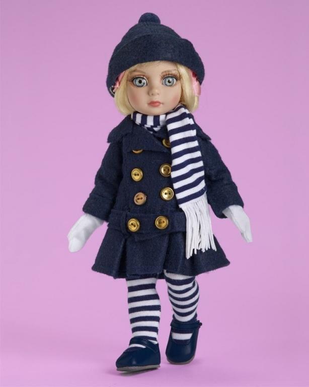 Наряд Tonner Patsy's Winter Breeze - Outfit Only / Пэтси Зимний бриз, новый, NFBR