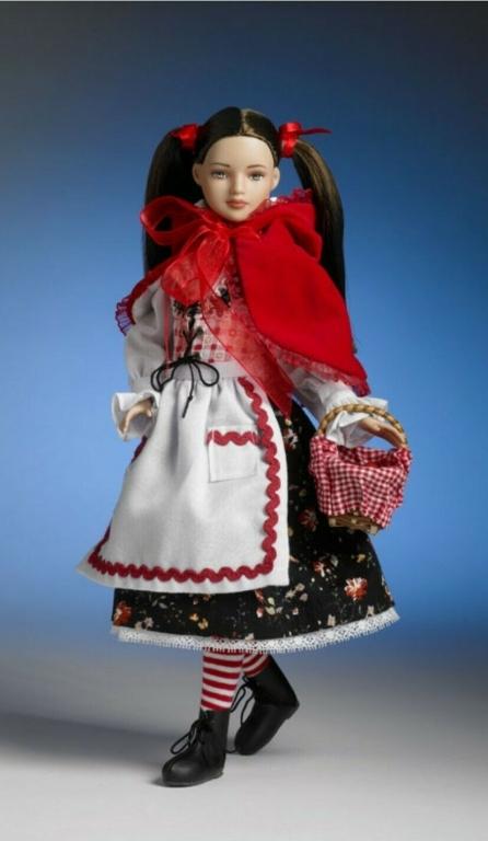 """Наряд 12"""" LITTLE RED RIDING HOOD / Красная шапочка 2008 серия Alice in Wonderland LE 500, новый"""
