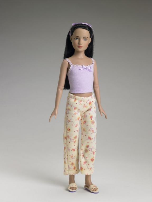 "Под заказ Кукла 12"" Марли Лиловая базовая брюнетка Эксклюзив от Тоннер/ Marley Wentworth Lilac Basic Tonner, редкая, 2005, LE300"