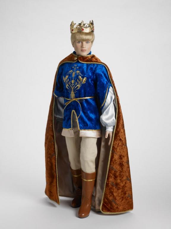 Наряд для 19' куклы Тоннер Питер Певенси Хроники Нарнии/ Peter Pevensie Chronicles of Narnia Tonner - комплект одежды, обуви и аксессуаров, состояние нового, нет короны