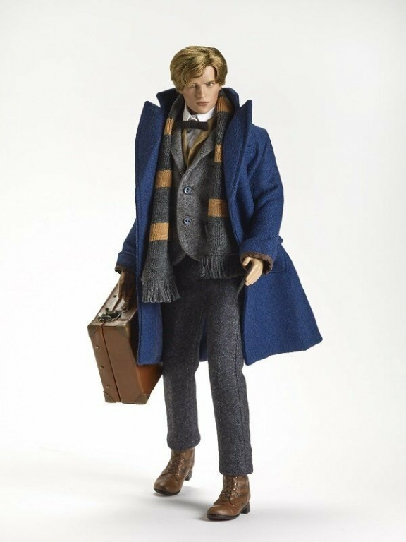 """Кукла 17"""" Тоннер Newt Scamander (Eddie Redmayne) Fantastic Beasts Tonner, новая, в коробке, NFBR"""