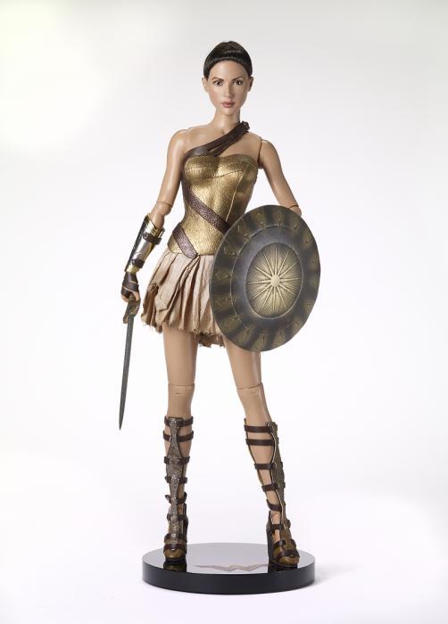 Кукла Чудо-Женщина Wonder Woman Training Armor Deluxe Edition/ Учебная Экипировка, DC Stars Collection, полный комплект, новая, NFBR