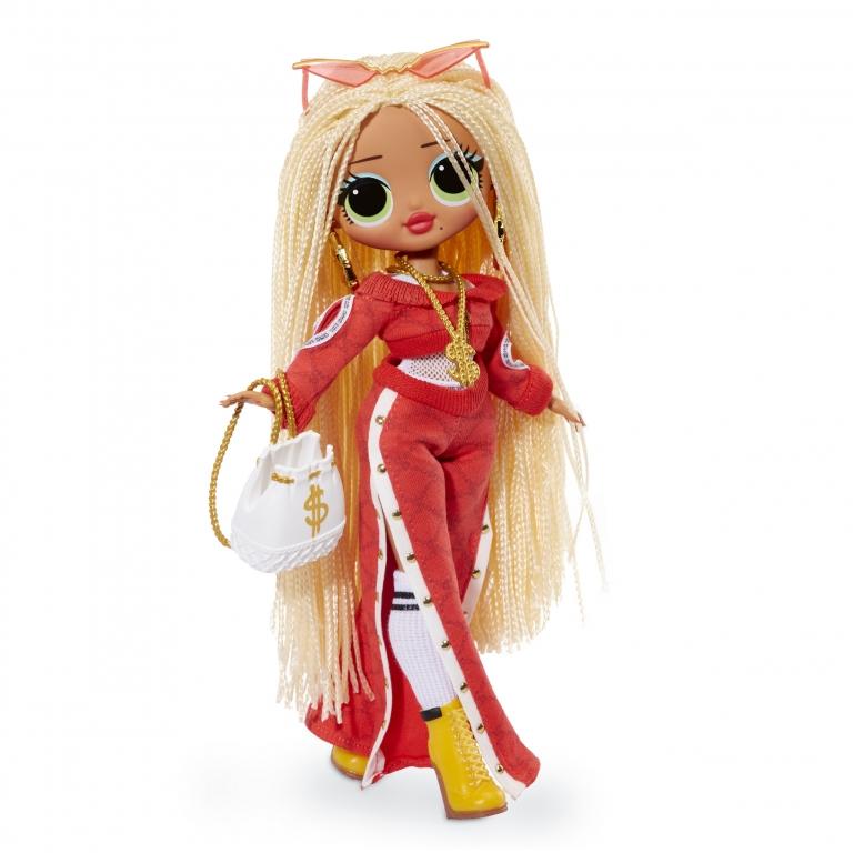 """10"""" Большая фешн кукла Лол (23 см) Свэг - LOL Surprise OMG Swag 20 сюрпризов, новая NFBR"""
