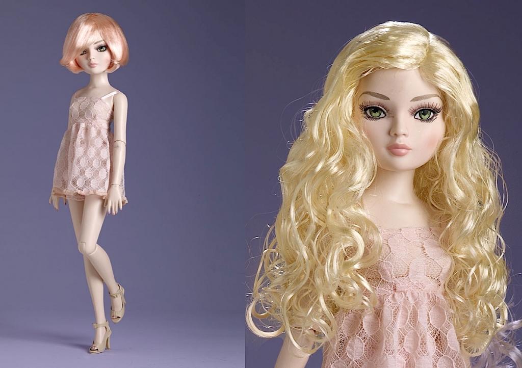 Под заказ Кукла Tonner Ellowyne Wilde Pretty Pale Wigged Out /Тоннер Элловайн Довольно Бледная, 2 парика