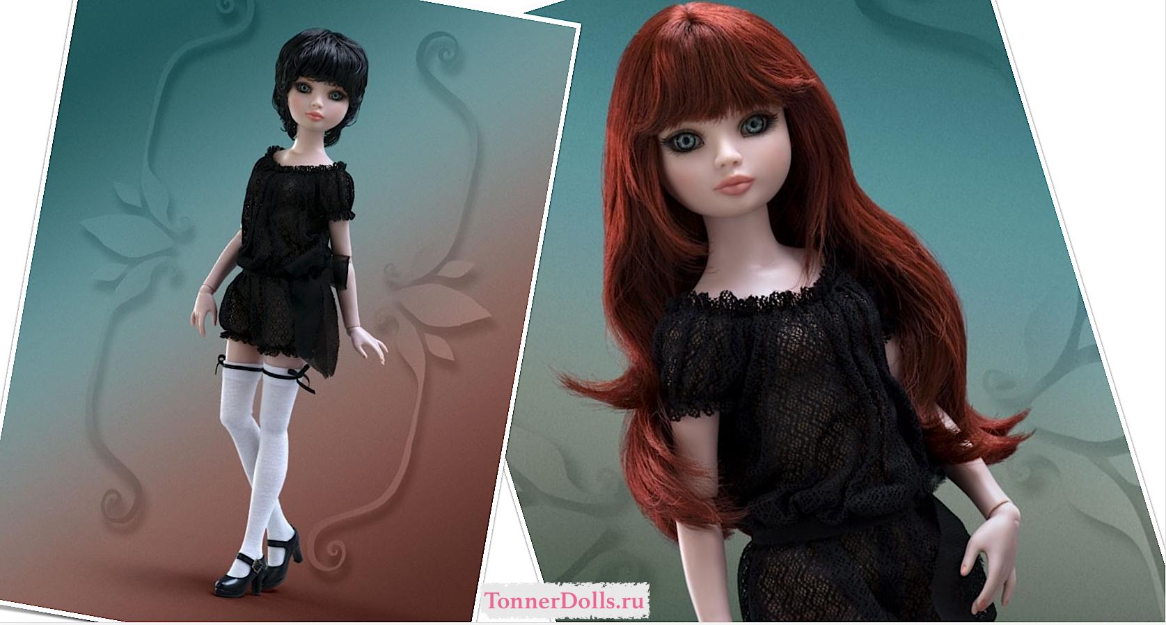 Под заказ Кукла 2 парика Ellowyne Feeling Drained Wigged Basic / Элловайн Опустошенная