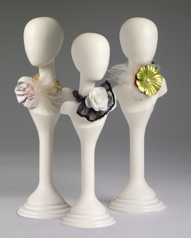 НАБОР 3 ожерелья с цветами для кукол ТОННЕР Элловайн, Эванджелин ELLOWYNE'S ART JEWELRY, новый в коробке