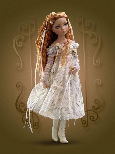 Кукла Tonner Ellowyne Wilde I Wait Alone / Тоннер Элловайн Ожидание в одиночестве, 2009, новая в коробке