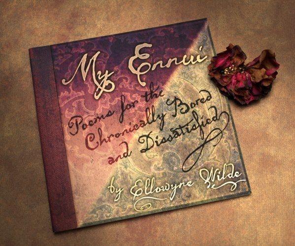 """Книга Тоннер """"МОЯ ТОСКА"""" сборник любимых стихов, поэм, неопубликованных фотографий Элловайн / TONNER MY ENNUI POETRY BOOK Ellowyne Wilde Imagination, новая"""