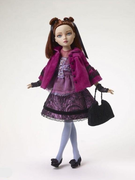 Кукла Элловайн Пурпурный дождь Эксклюзив/ Ellowyne Purple Rain FAO Exclusive, 2008 год! LE350, в коробке, полный комплект